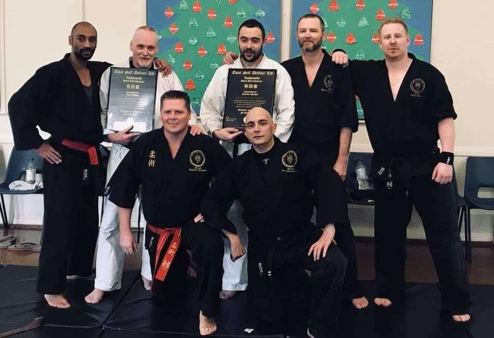 Adult Black Belt Grading