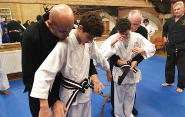 Junior Black Belts