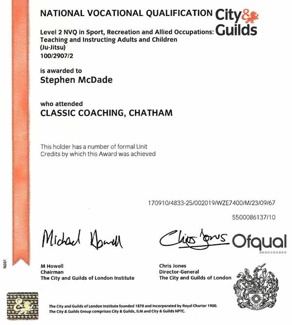 NVQ City & Guilds